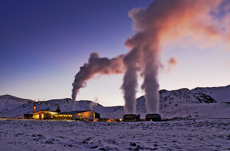 Geothermal Energy Plant Locations