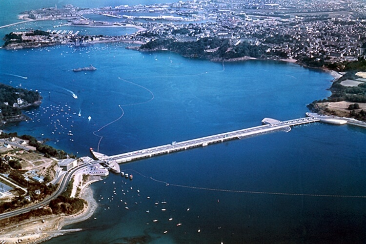 La Rance Tidal Power Plant