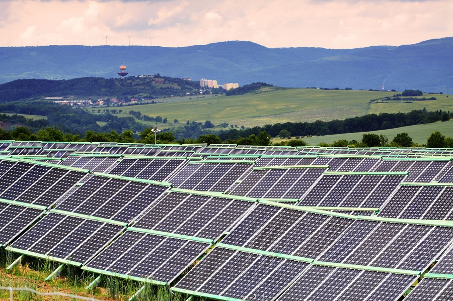 solar panels to use as alternative energy sources
