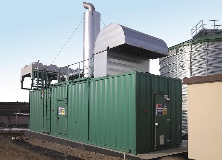 biogas CHP generator