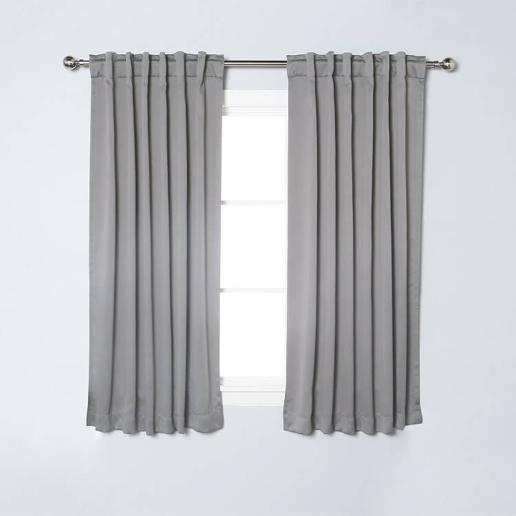 Nicetown 2 Panel Set Blackout Curtains