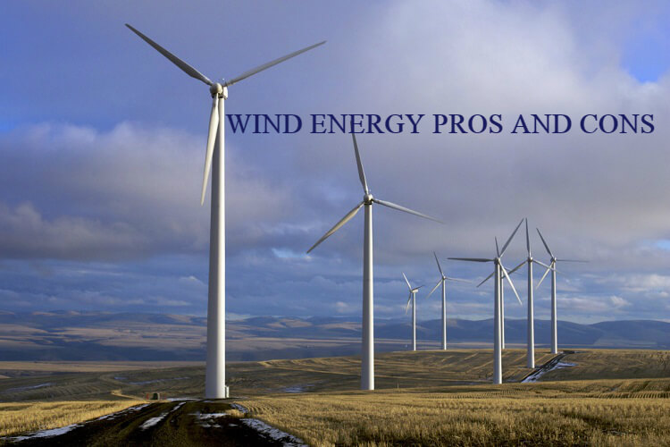 Wind energy pros and cons