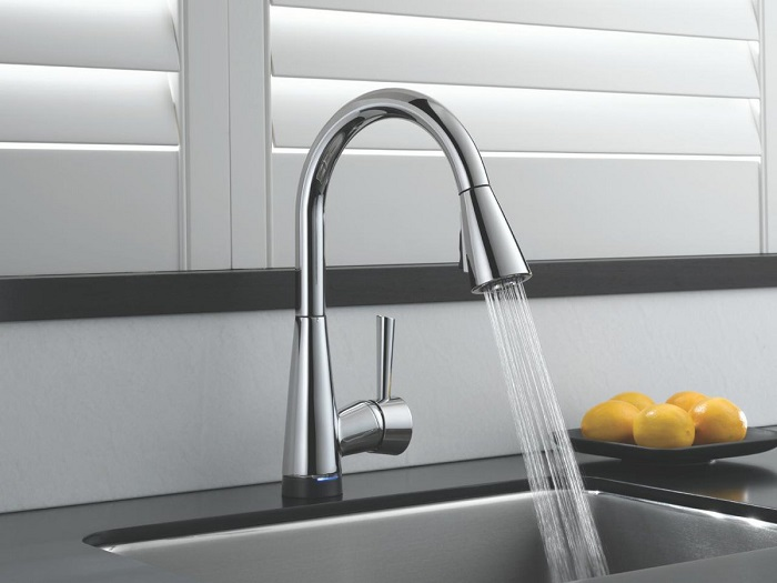 low flow sink faucet