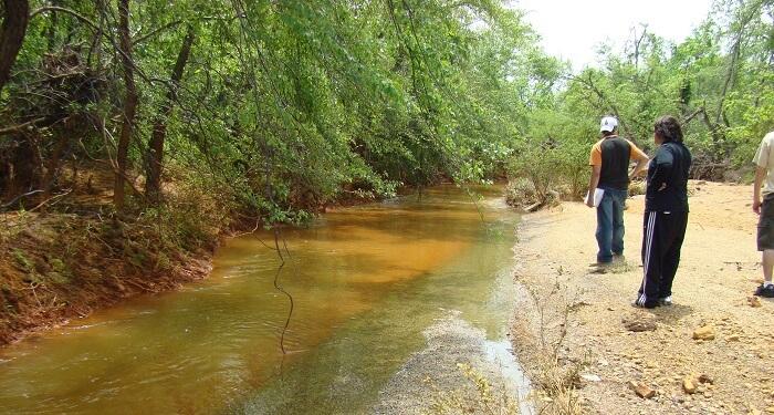 Heavy metal contamination in Tar Creek