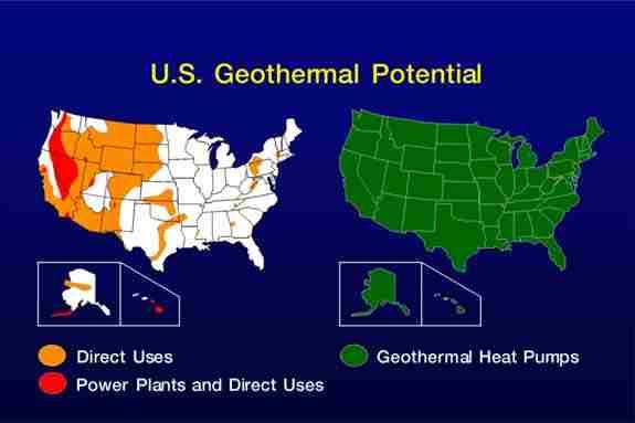 geothermal potential map