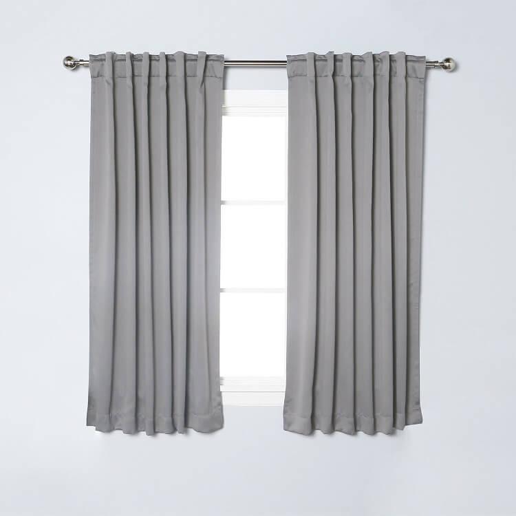 Nicetown 2 Panel Set Blackout Curtains